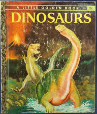 Golden Books Dinosaurs-by Jane Werner Watson 1959 1st Edition, C Collectable