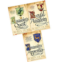 Robin Hobb Collection The Farseer Trilogy Series 3 Books Set Pack Brand NEW