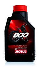 MOTUL OLIO MOTORE 800 2T FACTORY LINE OFF ROAD 100% SINTETICO 1 LITRO TRIAL