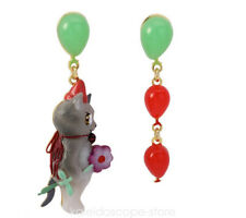 NEREIDES CAT BALLON STUD EARRING