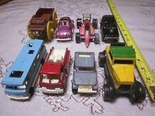 Vintage TootsieToy Metal Lot (8)