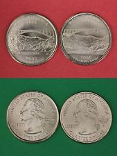 2005 D P West Virginia State Quarters Brilliant Uncirculated Flat Rate Shipping