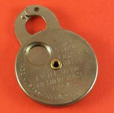 "Vintage Pocket Cigar Cutter "" Trick Lock USA Richard Appel N.Y."" 41 mm x 30 mm"