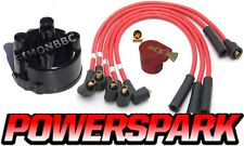 Mini Stock Car 8mm Performance HT Leads Distributor Cap And Red Rotor Arm 45D