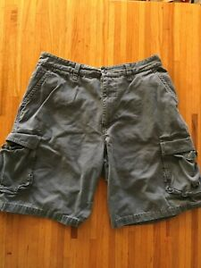 Men's Shorts Size 36 Gray 100% Cotton By Cargo Tall Men's