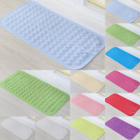 Anti Strong Suction Anti Non Slip Bath Shower Mat PVC Foot Massage Bathroom Rug