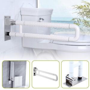 WC Toiletten Stützklappgriff Klappgriff behinderte Aufstehhilfe Edelstahl Griff