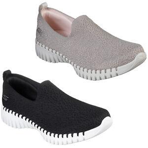 Skechers GoWalk Smart Shoes Womens Glory Lightweight Walking Mesh Flats Trainers