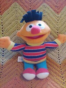 Sesame Street Ernie Plush 9 Inch Fisher Price Doll Children's Show
