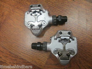VINTAGE SHIMANO RX100 (105) PD-A525 SPD ROAD CLIPLESS PEDALS