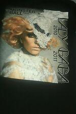 Lady Gaga The Monster Ball Tour T Shirt Unisex Sz Small Semi Precious Weapons