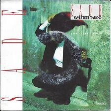 "45 TOURS / 7"" SINGLE--SADE--THE SWEETEST TABOO / YOU'RE NOT THE MAN--1985"