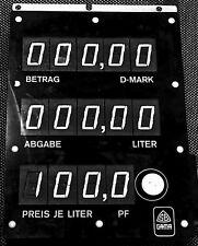 Scheidt Bachmann Display for T02 ER3 Kinzlie with 14pcs 7-seg Blinker Digits
