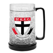 St Kilda Saints AFL Gel Ezy Freeze Beer Stein Frosty Mug Cup Man Cave Bar Gift