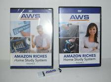 AWS AMAZON RICHES HOME STUDY SYSTEM Dvd Box Set VOL 1 & 2 & FLASH DRIVE
