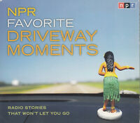 NPR Favourite Driveway Movements 2CD Audio Book Radio Stories Fun Inspiring