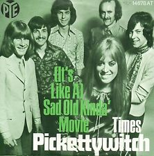 7 45 pickettywitch – (It 's Like a) Sad old realmentee' Movie rare ger 1970 pop
