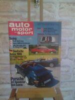 Auto Motor Sport - Heft 17 vom 21. August 1985