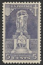 Mr B's US Stamp #628 MNH VF/XF OG - 1927 Ericisson Memorial - Free Shipping