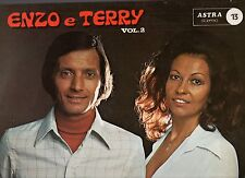 ENZO E TERRY E I MUSICALS FOLK VOL.2 disco LP 33 giri LISCIO made in ITALY 1976