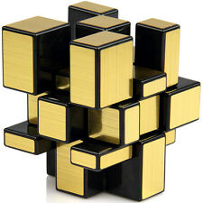 3x3x3 Golden Mirror Magic Shengshou Rubik Cube Puzzle Magic Box Gift Game Toy