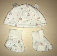 John Lewis unisex baby booties and hat size L 68 - 80 cm