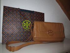 TORY BURCH Tasche TAN FOLDOVER AMANDA Messenger Taschen neu