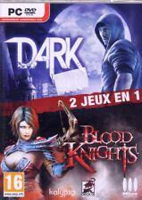 Pack de 2 jeux : Dark + Blood Knights  (NEUF EMBALLE)