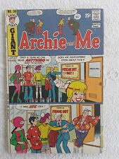 1973 Archie Comics Archie and Me #56 VG+