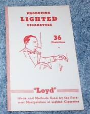Producing Lighted Cigarettes, Loyd, 6th printing, 1975 - Tmgs Book-Mania