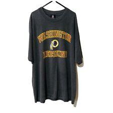 Washington Redskins NFL Football Team Apparel Grey T Shirt Size XL