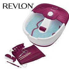 New Womens Revlon Pediprep Foot Spa Nail Care Pedicure Grooming Kit RVFB7021PUK
