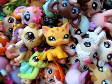 Littlest Pet Shop LPS 10 PC Lot Random Surprise Grab Bag 5 Pets & 5 Accessories