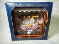 Reutter Porzellan Mario's Pizzeria Restaurant Collectible Miniature Picturebox