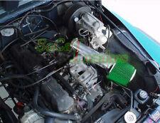 Black Green Long Air Intake Kit & Filter For 1991-1995 Jeep Wrangler 2.5L 4.0 I6
