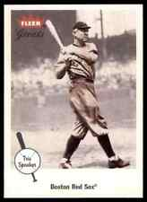 2002 FLEER GREATS TRIS SPEAKER BOSTON RED SOX #5