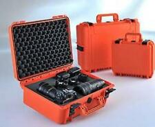 MAX430S-O - Equipment Case wasserdicht, orange, 430x286x185mm, inkl- Schaumstoff