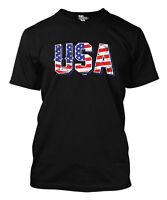 USA - American Pride Red White & Blue Merica Men's T-shirt