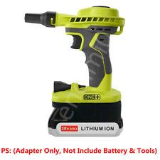 Black&Decker 20V Li-ion Battery to Ryobi 18V Cordless Tools Adapter (NO Battery)