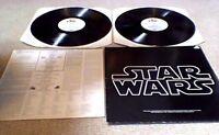 JOHN WILLIAMS STAR WARS OST 1st PYE UK RED VINYL 2 LP 1977 A1/B1/C1/D1 + POSTER