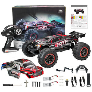 62km/h 1:10 Scale Remote Control RC Car Brushless Electric 40+ MPH 4WD Off-Road