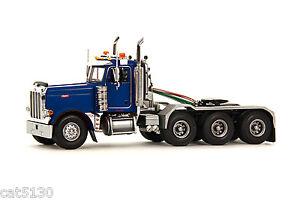 "Peterbilt 379 Truck Tractor - ""BLUE"" - 1/50 - WSI #34-1004"
