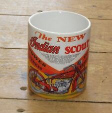 Indian Scout Motorcycle Advertising New MUG