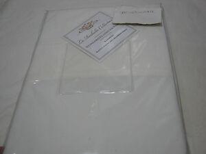 CGG Home Fashions La Rochelle Bamboo Fiber Standard Pillowcase Pair  Ivory NIP