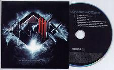 SKRILLEX More Monsters & Sprites UK 7-trk promo test CD card sleeve Kaskade