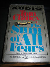 The Sum of All Fears by Tom Clancy (1991, Cassette, Abridged)