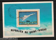1978-GUINEE-BISSAU-BLOC OBLI./HISTOIRE DE L'AVIATION/CONQUETE SPATIALE - Yt.BF17