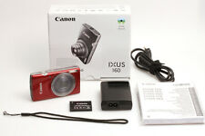 Canon IXUS 160 Digitalkamera Rot mit 20 Megapixel, 8x Zoom und Bildstabilisator