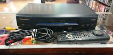 New listing Panasonic Vcr Pv-V4530S 4 Head HiFi Stereo Vhs Player With Remote Tested