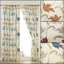 """Kinsale 3"""" Tape Top Curtains And Accessories Range - Three Colours Available"""